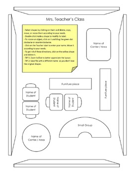 Seating Chart / Classroom Layout Planner