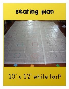 Seating plan mat / carpet - Free!