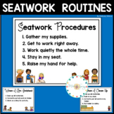 Classroom Routines and Procedures Editable
