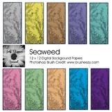 Seaweed Digital Backgrounds