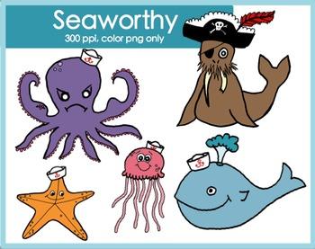 Seaworthy {ocean} Clipart