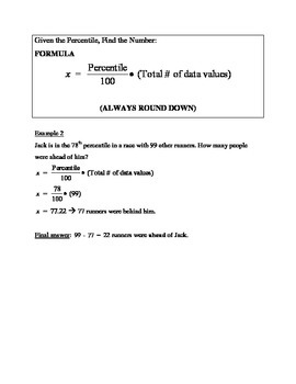 Sec 4 Stats Notes with Explanation and Examples