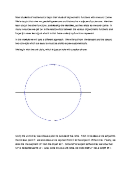 Secant -- a geometric perspective