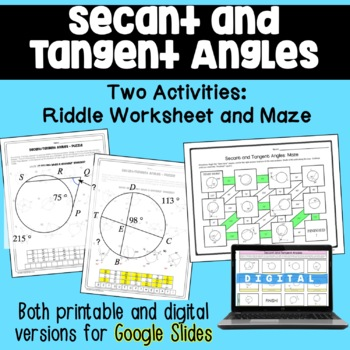 Angles Puzzle Teaching Resources | Teachers Pay Teachers