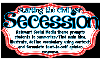 Secession Civil War