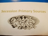 Secession Primary Source Activities