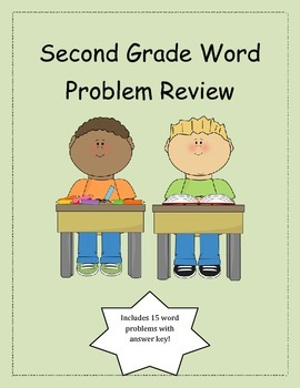 Second Grade Word Problem Review