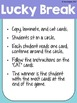 Reading Fluency Games - SECOND 100 Fry Phrases