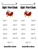 Fry Sight Words Book - Second 100 Words