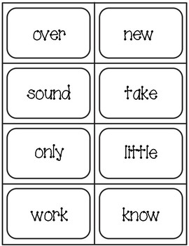 Second 100 Fry Word Flashcards