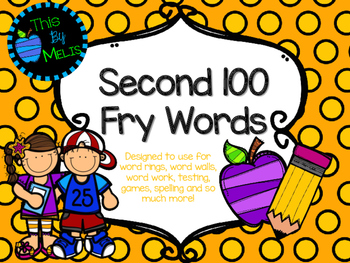 Second 100 Fry Words