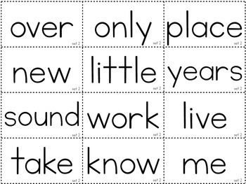 Second 100 Sight Words {An Easy to Prep Game}