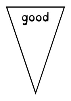 Second 100 high frequency words on bunting - English Curriculum