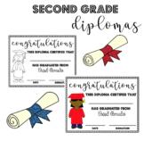 Second (2nd) Grade Graduation Diplomas