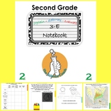 Second (2nd) Grade Science Notebook ENGLISH