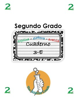 Second (2nd) Grade Science Notebook SPANISH