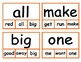 """Second """"30"""" Sight Words - Clip Cards"""