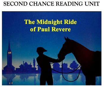Second Chance Reading Unit - Paul Revere's Ride