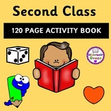 Second Class 120 Page Activity Book - Distance Learning