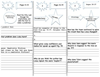 """""""Second Day First Impressions""""  Trifold Activity Reading Wonders 5th Grade"""