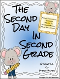 2nd Grade ~ Second Day In Second Grade ~ A Back To School Packet For Grade 2