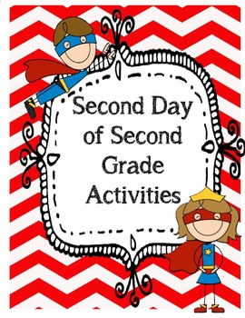 Second Day of Second Grade Back to School September