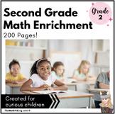 Math Enrichment Packets PRINTABLE GRADE 2 CHALLENGES Dista