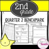 Second Grade 2nd Quarter Math Assessment