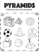 Second Grade 3D Worksheets Packs