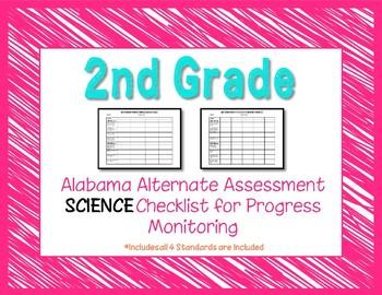 Second Grade AAA Science Checklist Progress Monitoring