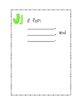 Second Grade ABC Class Book