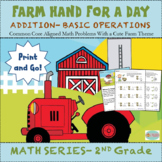 Second Grade Math- Addition Worksheets for the Common Core