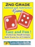 Second Grade: Addition and Subtraction Easy & Fun Game