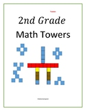 Second Grade Addition and Subtraction Towers With Unifix Cubes