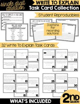 Second Grade Addition and Subtraction Unit Bundle