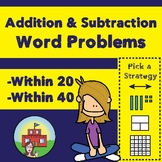 Addition and Subtraction Word Problems (Within 20 and Within 40)