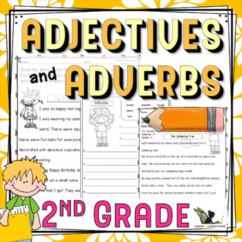 Second Grade Adjectives and Adverbs
