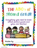Second Grade Advice Book, End of the Year Writing