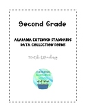 Second Grade Alabama Extended Standards Data Sheets for Math & Reading