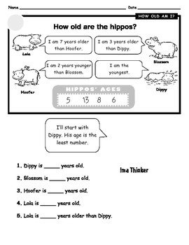 Second Grade Algebra Readiness