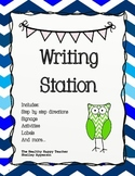 Second Grade All Inclusive Writing Station, Great for Daily 5 {Common Core}