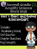 Second Grade: Amplify Science Focus Wall- Unit 1