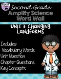 Second Grade: Amplify Science Focus Wall- Unit 3: Changing Landforms