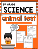 Second Grade Animal Test