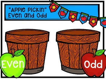 """Second Grade """"Anytime"""" Apple (Fall) Themed Math Centers"""