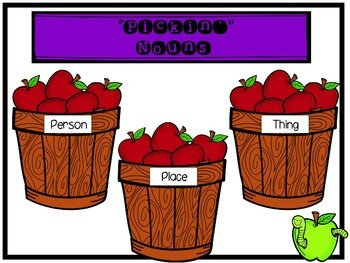 """Second Grade """"Anytime"""" Apple Themed Literacy Centers"""