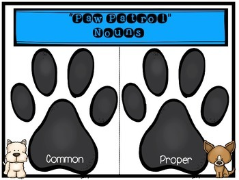 """Second Grade """"Anytime"""" Dog Themed Literacy Centers"""