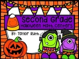 """Second Grade """"Anytime"""" Halloween Themed Match Centers"""