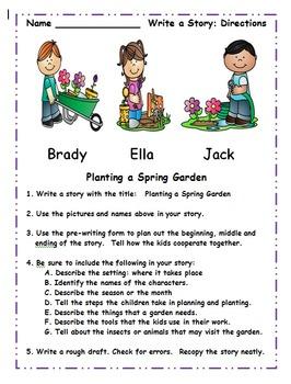 Second Grade April Common Core Activities