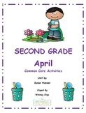 Second Grade April Core Activities